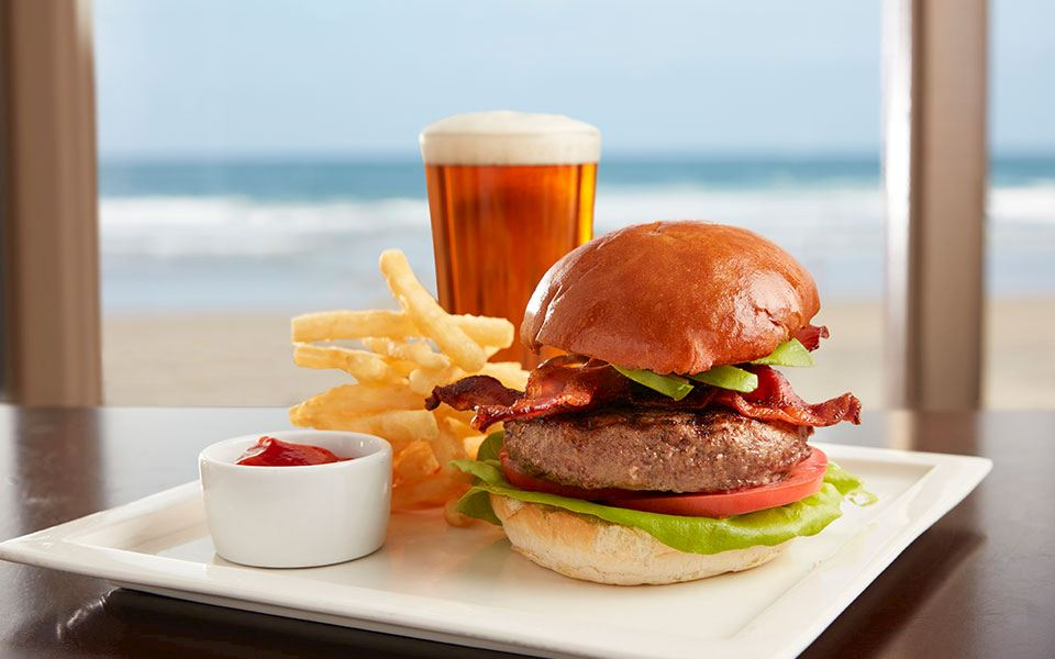 The Shores Restaurant Beer and Burger Night