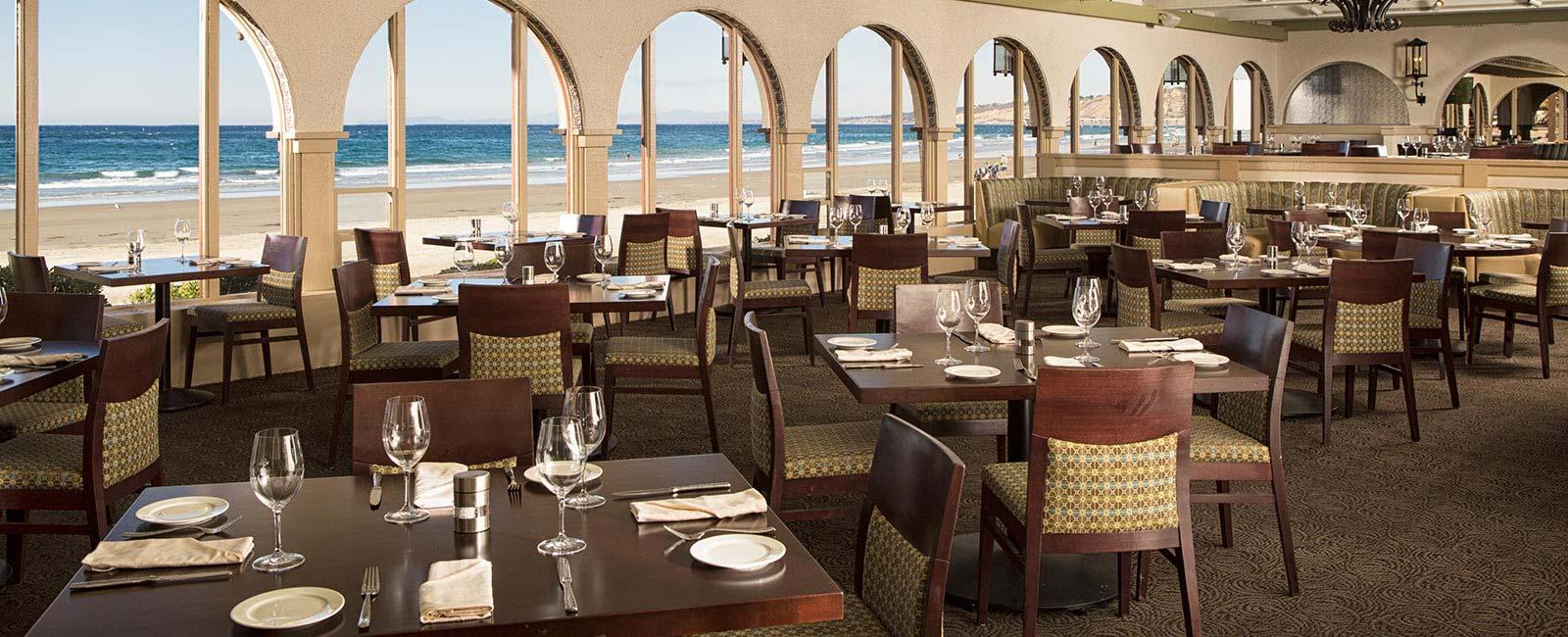 Site Map of The Shores Restaurant, La Jolla