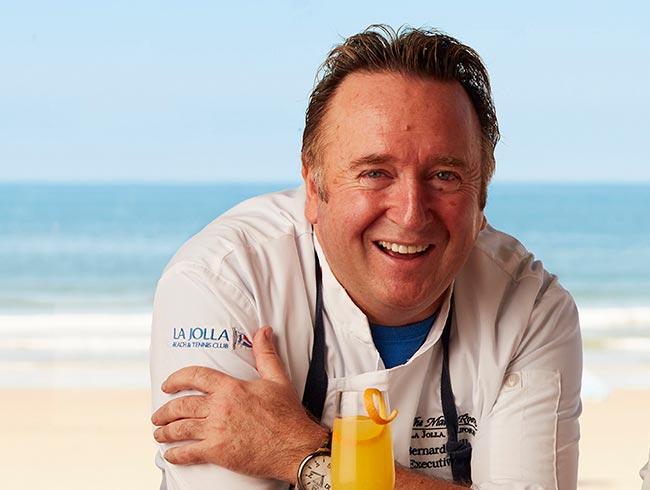 Executive Chef Bernard Guillas at The Shores Restaurant, California